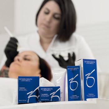 Produkte für die intensive OBAGI Gesichtsbehandlung